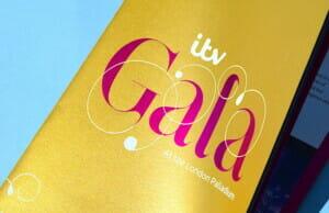 Gold ITV Gala Brochure