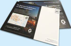 Printed Direct Mailing Cards