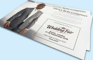 Printed Direct Mailing Invite