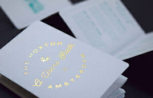 Gold Foiling
