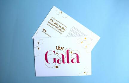 Luxury printed invitation