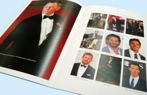 Printed Celebrity Glossy Magazine Insert