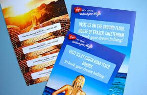 Personalised leaflet printing