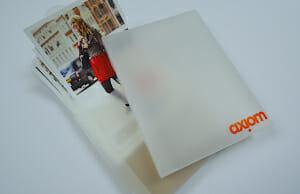 Polyprop folder printing