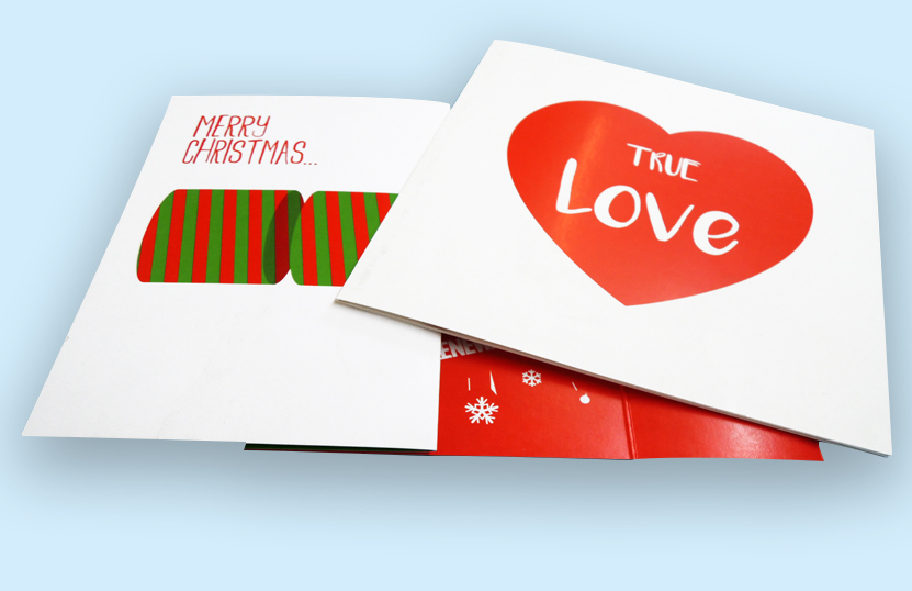 Printed Christmas Greeting Card