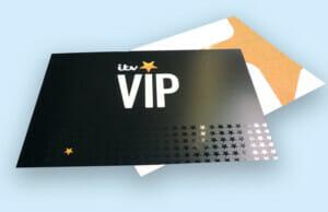 ITV VIP Printed Invites