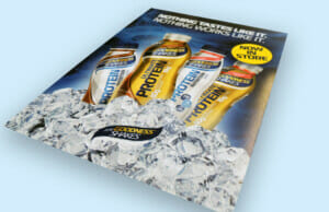 Large Format Protein Drink Poster