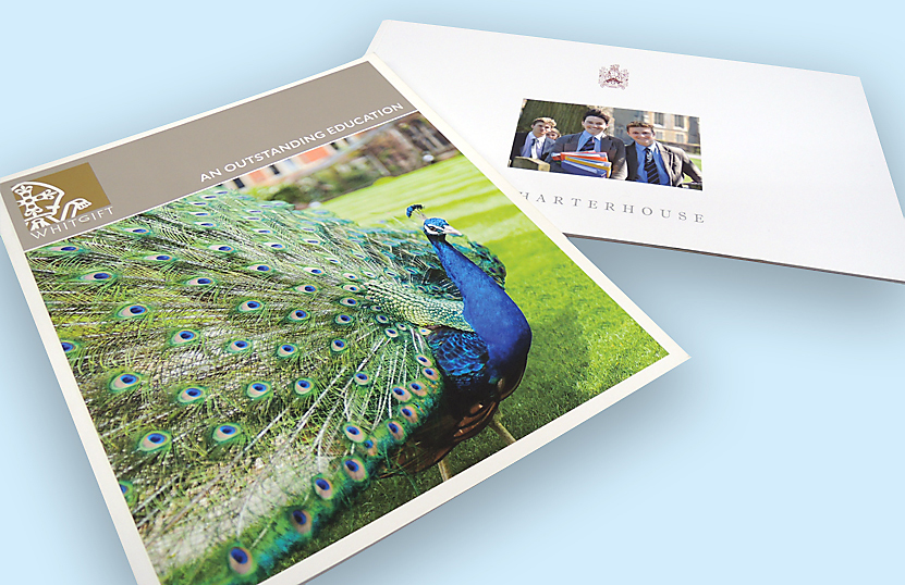 Printed School Prospectus Pages