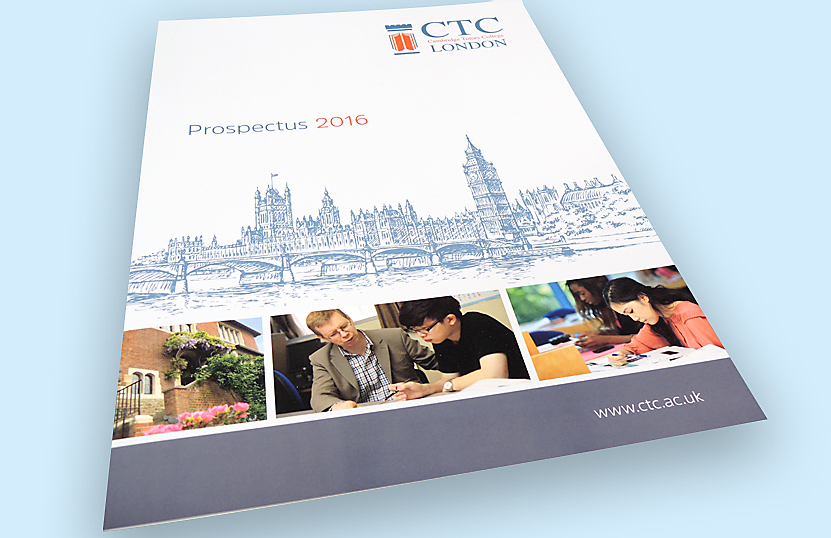 Print Prospectus CTC London