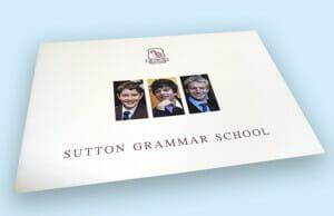 Printed White School Prospectus
