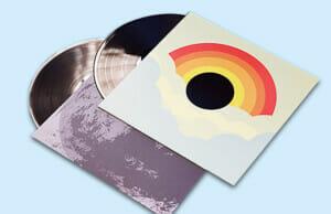 Multiple Printed Record Sleeves