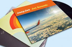 Printed Easy Jet Record Sleeve