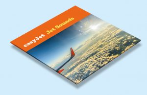 Easy Jet Record Sleeve Cover