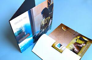 Record sleeve printing