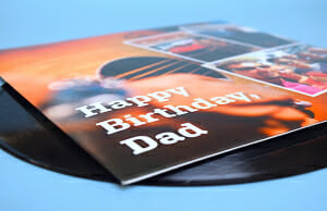 Record sleeve gift