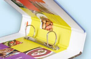 Printed Ring Binder Inside