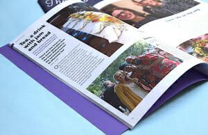 School magazine printing