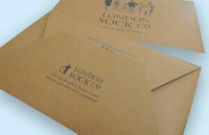 London Sock Co Printed Stationery