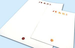 Printed Personalised Stationery