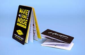 Z-card printing